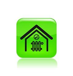 Room temperature icon vector