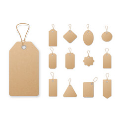 sale tag and labels template set price tag vector image