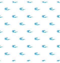 Wave splashing pattern seamless vector