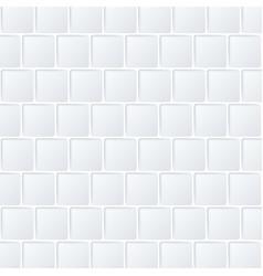 White geometric texture shape square vector