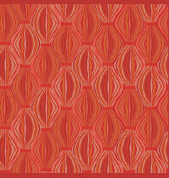 Abstract seamless pattern line ornament swirl vector