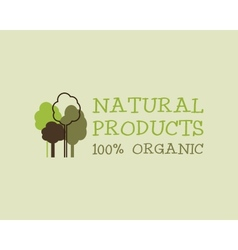 Organic eco green logo template Can be used as vector image