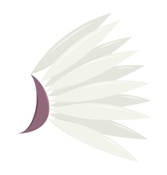 White wing icon cartoon style vector image vector image
