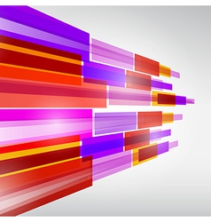Abstract Colorful Transparent Strips Background vector image vector image