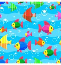 sea seamless vector image vector image