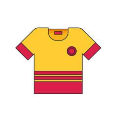 t-shirt flat vector image