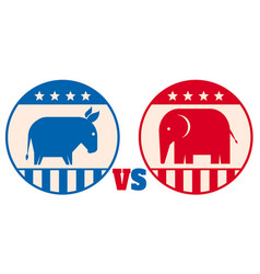 American political parties vector