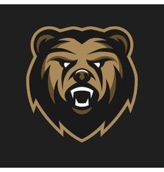 Angry Bear logo symbol vector