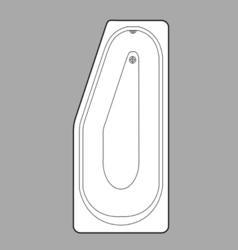 Bath plan vector