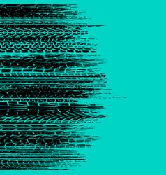 brushed tire blue horizontal background vector image