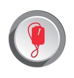 Enema icon Clyster tool symbol Round three vector
