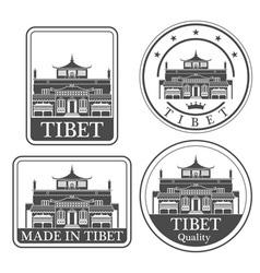 Tibet vector