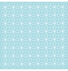 turquoise geometric background patterns icon vector image