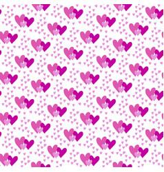 valentines hand drawn seamless pattern-12 vector image