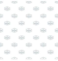 Water sport pattern seamless vector