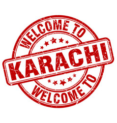 Welcome to karachi vector
