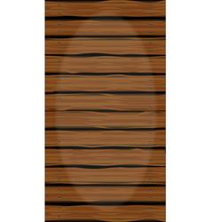Wooden walkway vector