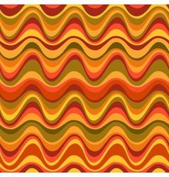 geometric seamless desert dune pattern vector image