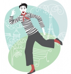 mime vector image vector image