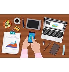 Work activity vector image