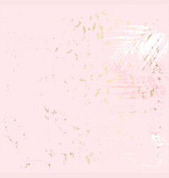 abstract trendy marble gold chic pastel pattern vector image