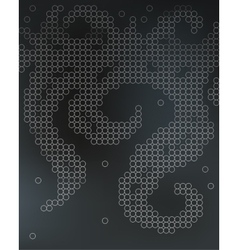 Beer foam background stylized bubble vector image vector image