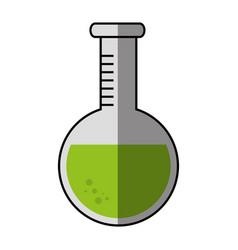 flask chemistry lab vector image