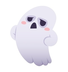 Ghost character isolated vector image