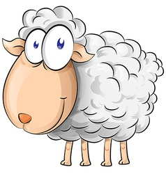 Sheep cartoon vector
