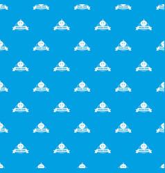 tomato pattern seamless blue vector image