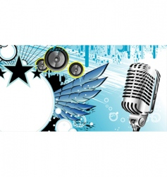 music frame background vector image vector image