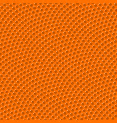 basketball seamless texture with bumps vector image vector image