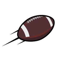 American football logos retro vector