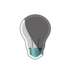 Bulb big idea vector