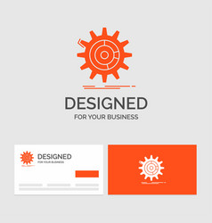 Business logo template for setting data vector