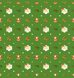 Cute christmas seamless pattern background for vector