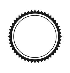 Elegant frame style icon vector