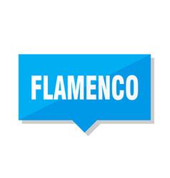 flamenco price tag vector image