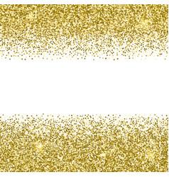 gold glittery texture sparkle golden vector image