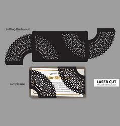 Laser cutting vector