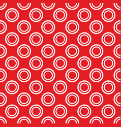 Retro seamless pattern with small white polka dots vector