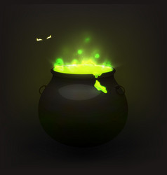Stock witches cauldron vector