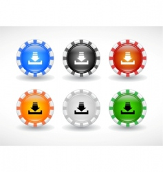 Website design symbols vector