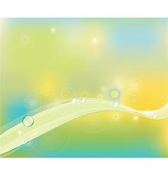 clip art abstract wave line background vector image vector image