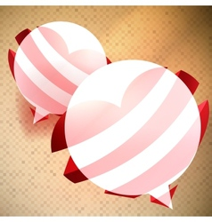 alentines Day background vector image