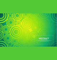 Green modern geometric shape abstract background vector