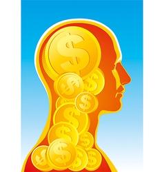 Money man vector image