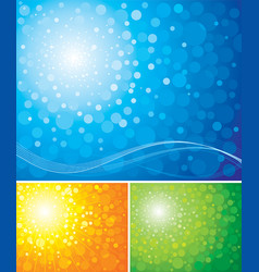 Radiance background vector