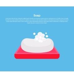Soap Concept Banner vector