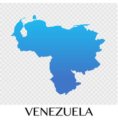 venezuela map in south america continent design vector image
